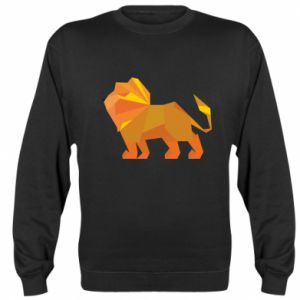 Bluza (raglan) Lion abstraction