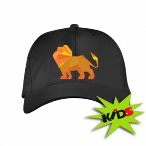 Kids' cap Lion abstraction