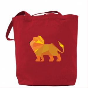Bag Lion abstraction