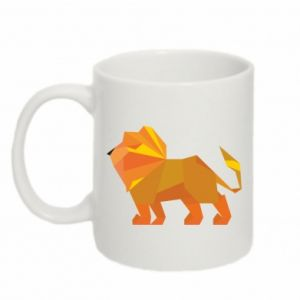 Kubek 330ml Lion abstraction