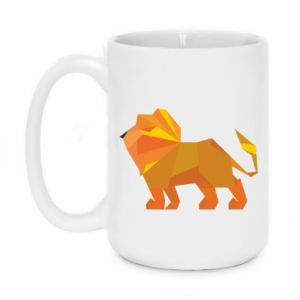 Kubek 450ml Lion abstraction