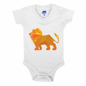 Baby bodysuit Lion abstraction