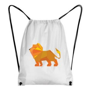 Backpack-bag Lion abstraction
