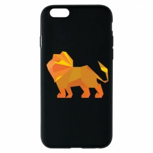 Phone case for iPhone 6/6S Lion abstraction - PrintSalon