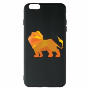 Phone case for iPhone 6 Plus/6S Plus Lion abstraction