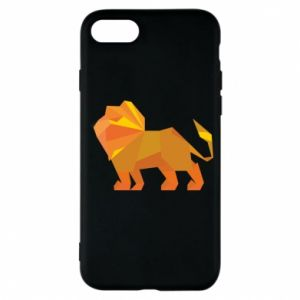 Phone case for iPhone 7 Lion abstraction - PrintSalon