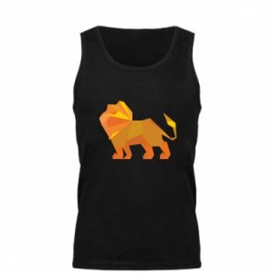 Men's t-shirt Lion abstraction