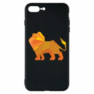 Phone case for iPhone 8 Plus Lion abstraction