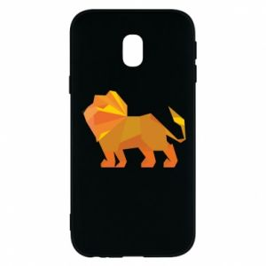 Phone case for Samsung J3 2017 Lion abstraction - PrintSalon
