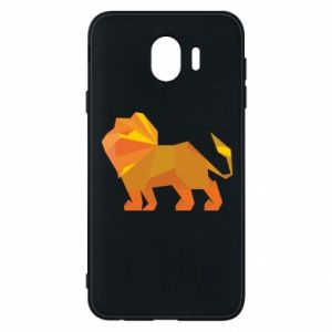 Phone case for Samsung J4 Lion abstraction - PrintSalon