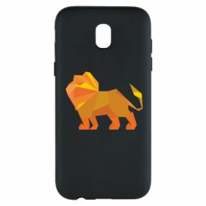 Phone case for Samsung J5 2017 Lion abstraction - PrintSalon