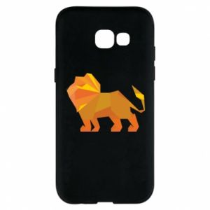 Phone case for Samsung A5 2017 Lion abstraction - PrintSalon