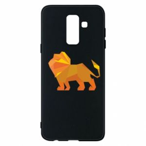 Phone case for Samsung A6+ 2018 Lion abstraction - PrintSalon