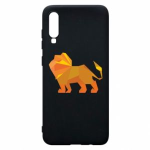 Phone case for Samsung A70 Lion abstraction - PrintSalon
