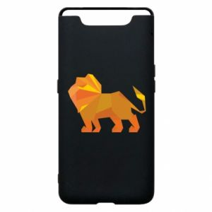 Phone case for Samsung A80 Lion abstraction - PrintSalon