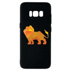 Phone case for Samsung S8 Lion abstraction - PrintSalon