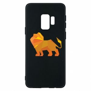 Phone case for Samsung S9 Lion abstraction - PrintSalon