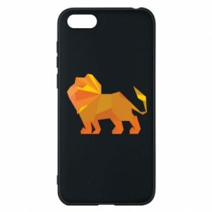 Phone case for Huawei Y5 2018 Lion abstraction - PrintSalon