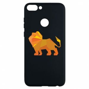 Phone case for Huawei P Smart Lion abstraction - PrintSalon