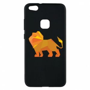 Phone case for Huawei P10 Lite Lion abstraction - PrintSalon