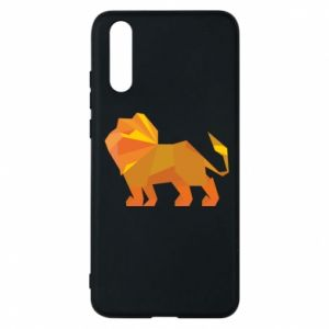 Phone case for Huawei P20 Lion abstraction - PrintSalon