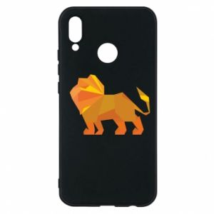 Phone case for Huawei P20 Lite Lion abstraction - PrintSalon