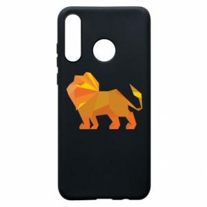 Etui na Huawei P30 Lite Lion abstraction