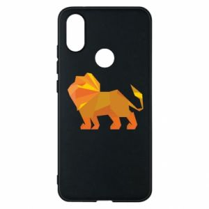Phone case for Xiaomi Mi A2 Lion abstraction