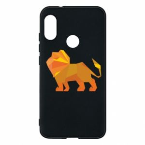 Phone case for Mi A2 Lite Lion abstraction