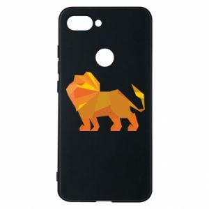 Phone case for Xiaomi Mi8 Lite Lion abstraction