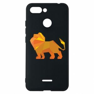 Phone case for Xiaomi Redmi 6 Lion abstraction
