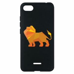 Phone case for Xiaomi Redmi 6A Lion abstraction