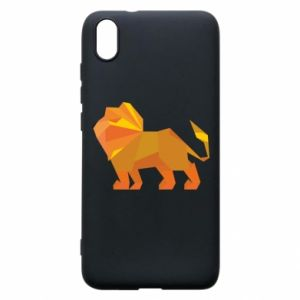 Phone case for Xiaomi Redmi 7A Lion abstraction