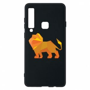 Phone case for Samsung A9 2018 Lion abstraction - PrintSalon