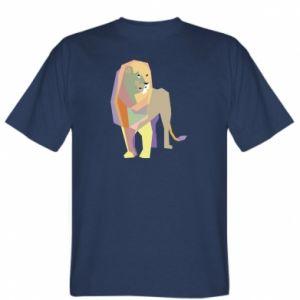 T-shirt Lion graphics
