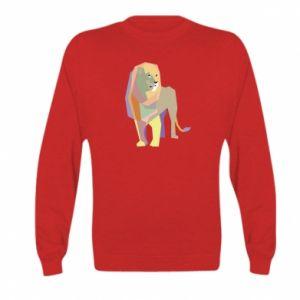 Bluza dziecięca Lion graphics