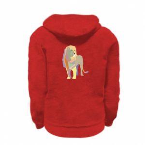 Bluza na zamek dziecięca Lion graphics