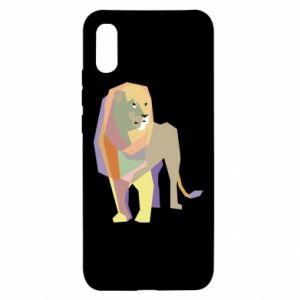 Etui na Xiaomi Redmi 9a Lion graphics