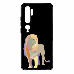 Etui na Xiaomi Mi Note 10 Lion graphics