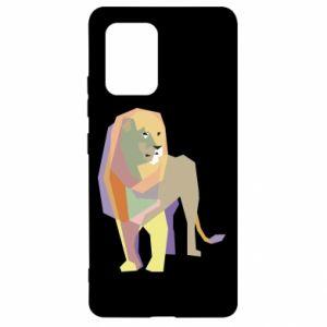 Etui na Samsung S10 Lite Lion graphics