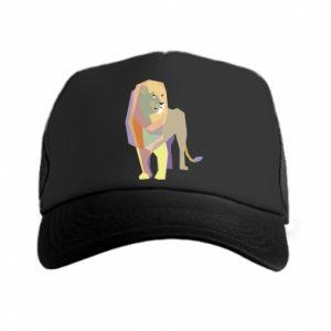 Czapka trucker Lion graphics