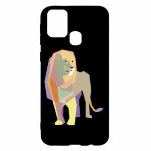 Etui na Samsung M31 Lion graphics