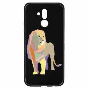 Etui na Huawei Mate 20 Lite Lion graphics