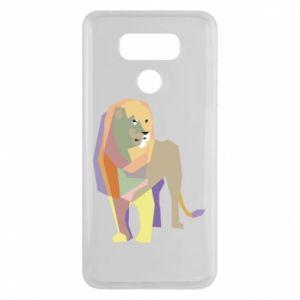 Etui na LG G6 Lion graphics