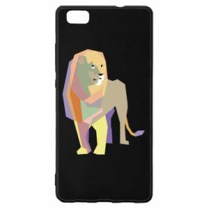 Etui na Huawei P 8 Lite Lion graphics