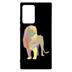 Etui na Samsung Note 20 Ultra Lion graphics