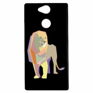 Etui na Sony Xperia XA2 Lion graphics