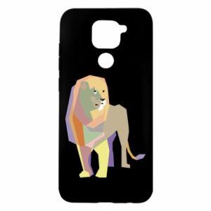 Etui na Xiaomi Redmi Note 9/Redmi 10X Lion graphics
