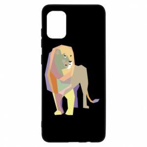 Etui na Samsung A31 Lion graphics