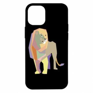 Etui na iPhone 12 Mini Lion graphics